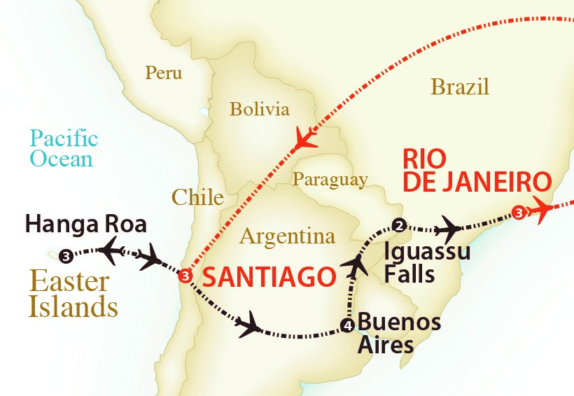 2018 - Map Easter Is and Iguassu new